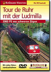 Tour de Ruhr mit der Ludmilla - 3000 PS vor schweren Zügen