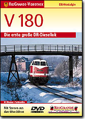 V 180 - Die erste große DR-Diesellok