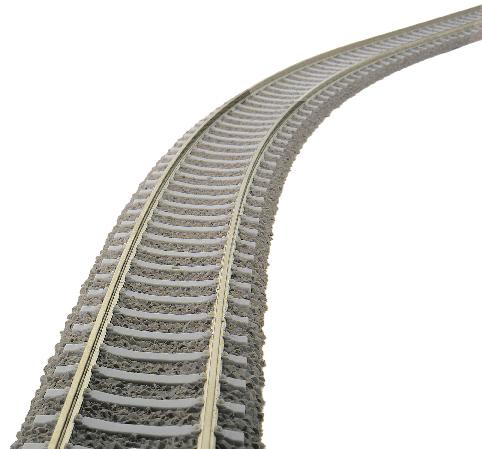 Flexibles Betonschwellengleis
