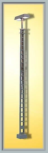 Gittermastleuchte, Kontaktstecksockel - Höhe 124mm