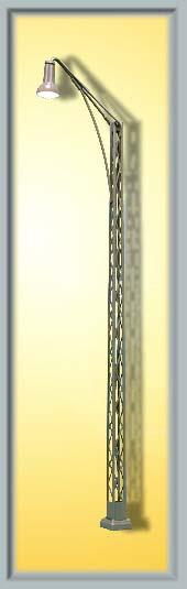 Gittermastleuchte, Boppard am Rhein - Höhe 140mm