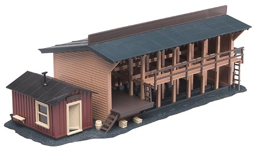 Lumber Yard Office (Built-up)