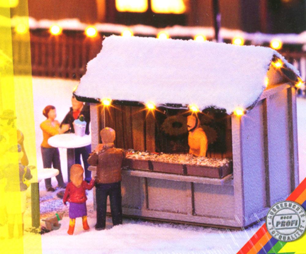 Lichterkette und Weihnachtsstern