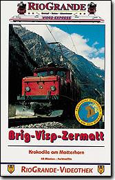 Brig-Visp-Zermatt - Krokodile am Matterhorn