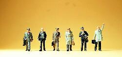 Geschäftsleute mit Aktenkoffer