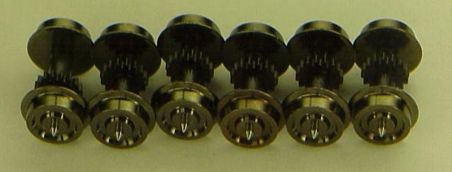 Low Profile geared Wheelset