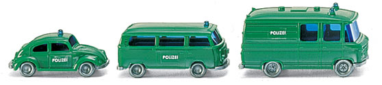 Polizei Einsatzfahrzeuge