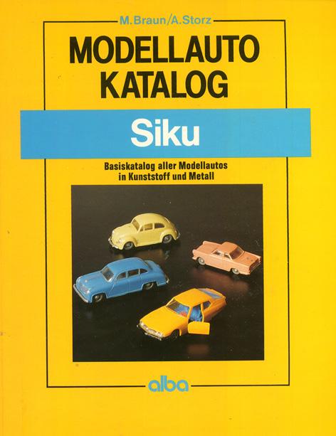 Modelautokatalog Siku 1993