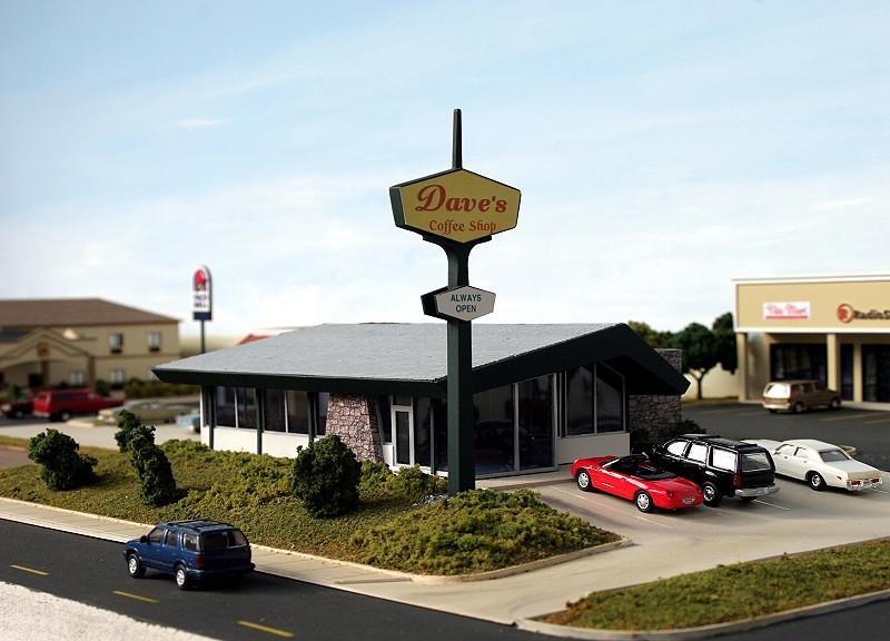 Dave´s Coffee Shop, ex Denny´s Restaurant