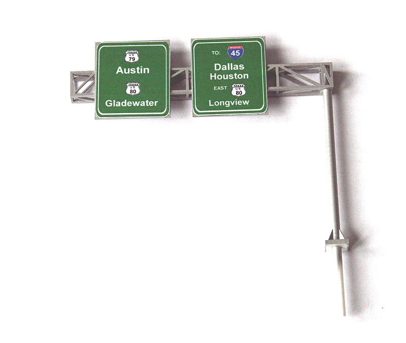 Highway Cantilever Sign, 2 lane