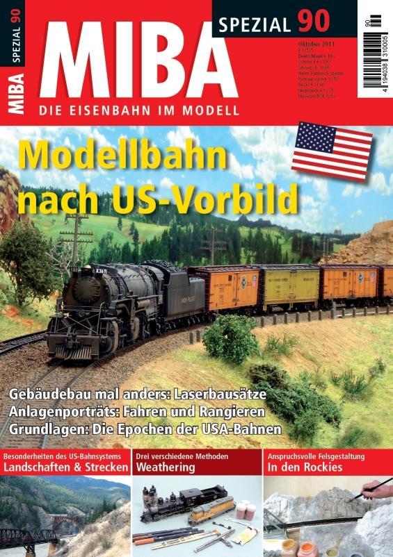 Modellbahn nach US-Vorbild