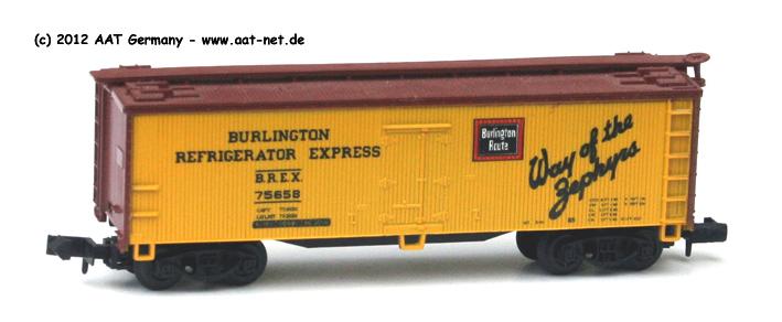 BREX / Burlington Route