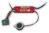 Sound/Motor Decoder (replaces SDN144PS)