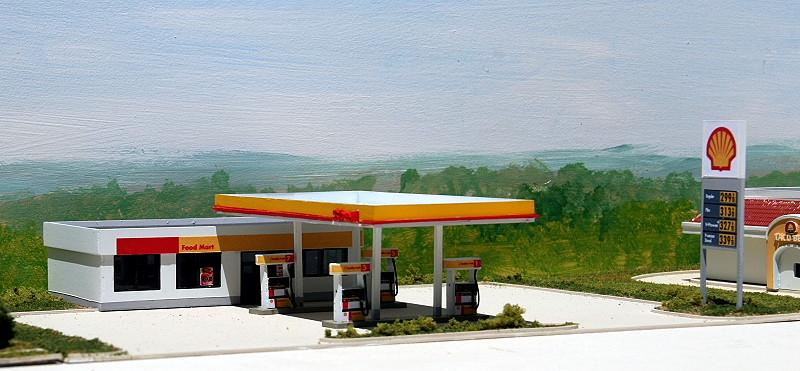 Shell Gas Station & Convinience Store