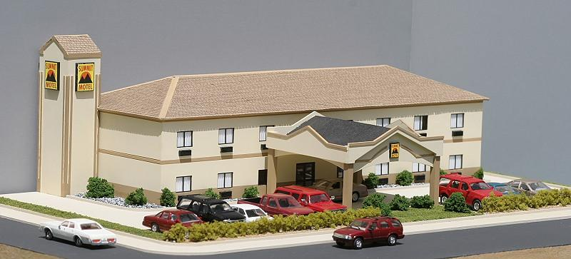 Summit Motel, backdrop version