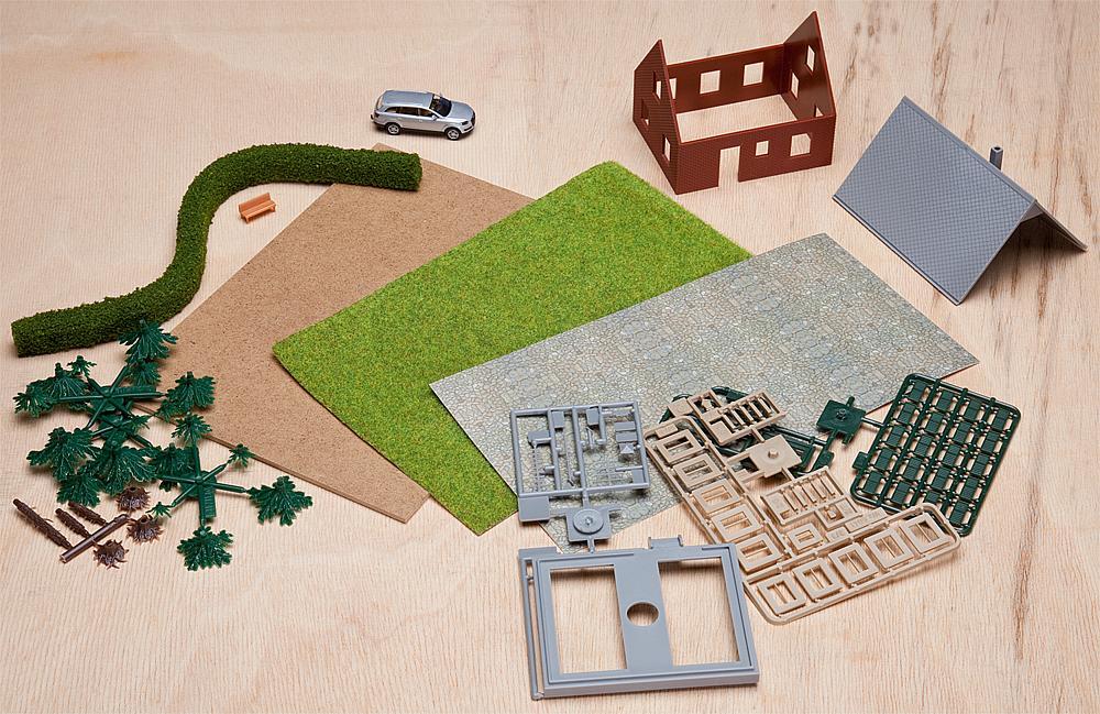 Kreativ Bastel-Set II Einfamilienhaus