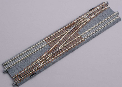 Double Track Single Crossover, left