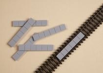 Gleiseinlagen (10 Stück)