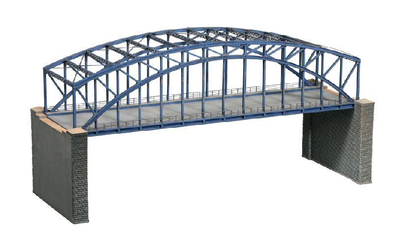 Bogenbrücke, 2-gleisig