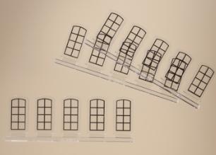 Industriefenster L (15 Stück)