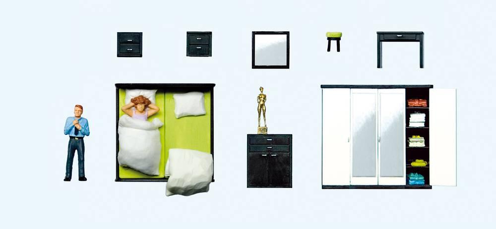 Beim Aufstehen, Schlafzimmereinrichtung