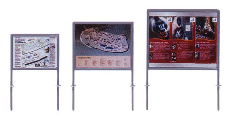 Zoo-Wegweiser   Infotafeln