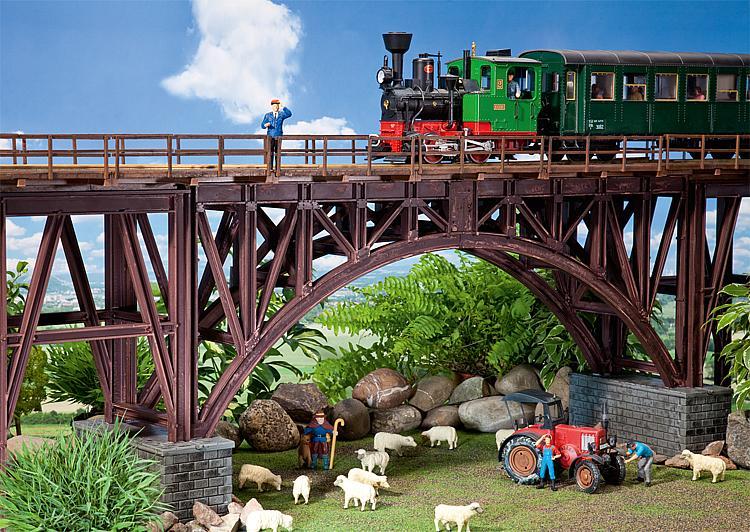 Stahlträgerbrücke