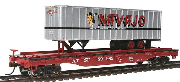 Santa Fe w/Navajo Trailer