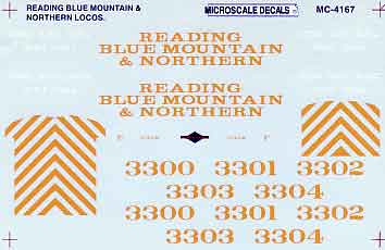 Reading Blue Mountain & Northern