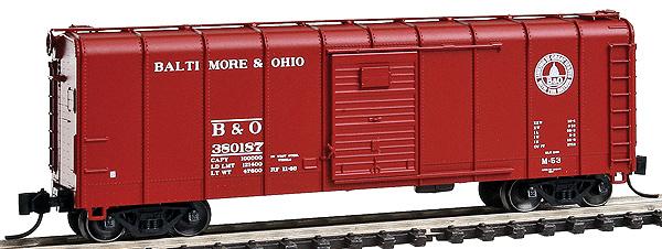 Baltimore & Ohio (post war 1946-55)