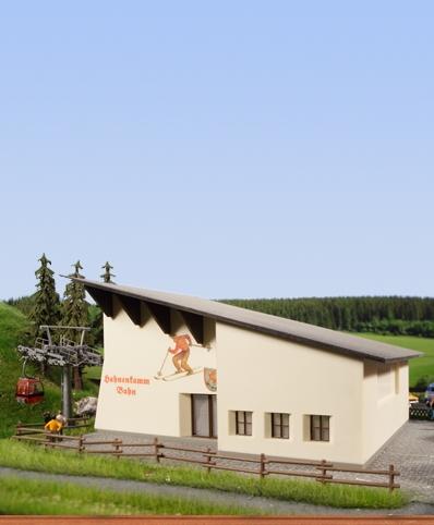 Gebäudebausatz für Berg- und Talstation