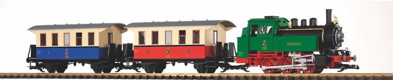 BR 80 & 2 Personenwagen