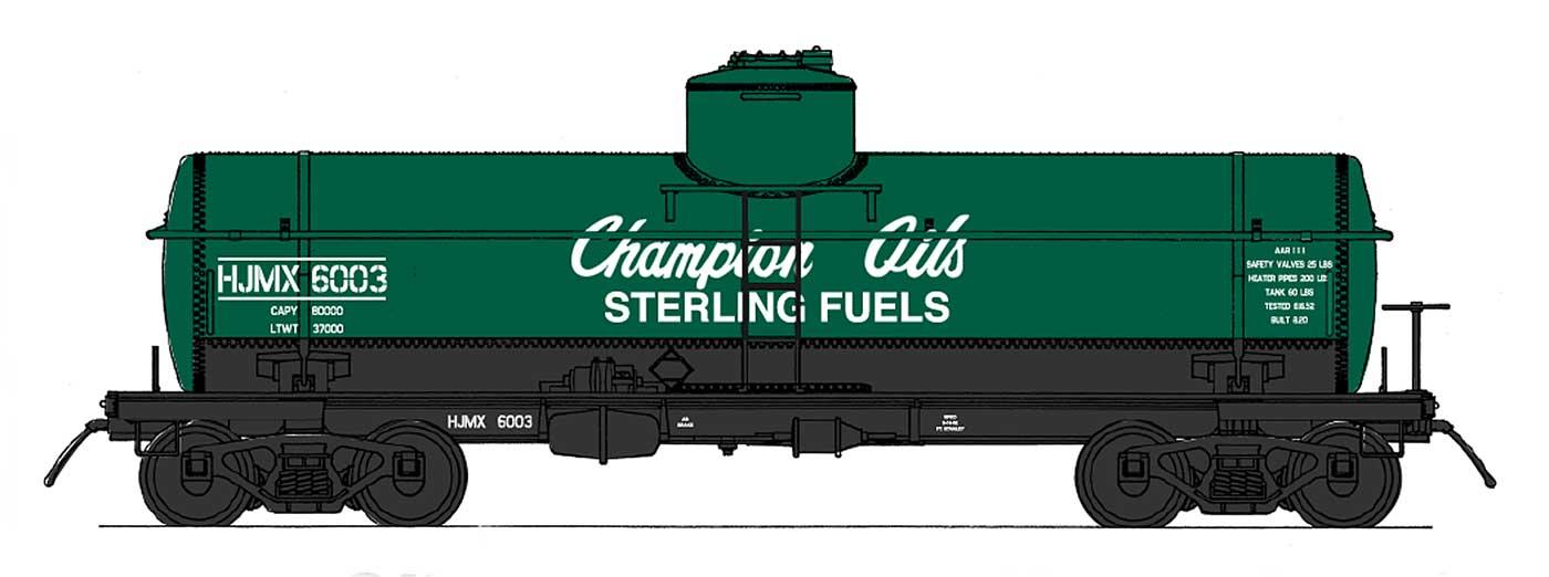 Champion Oils / HJMX