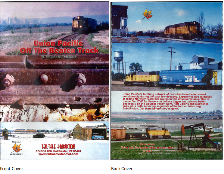 Union Pacific off the Beaten Track