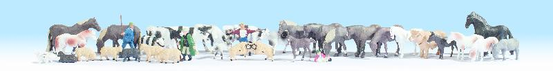 Tiere (36 Figuren)