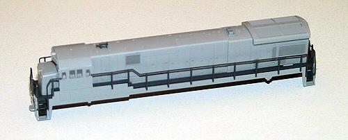 C30-7 Bodyshell, undec, revised
