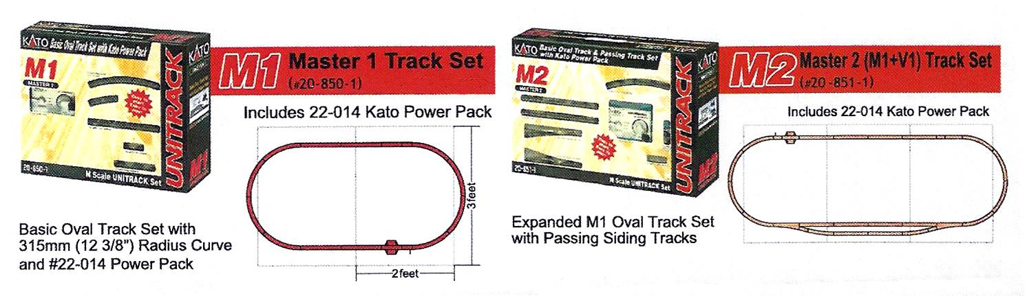 Trackplan M-Sets Unitrack N