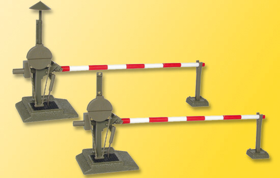 Bahnschranke, vollautomatisch