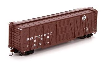 50` Wood Boxcar H0