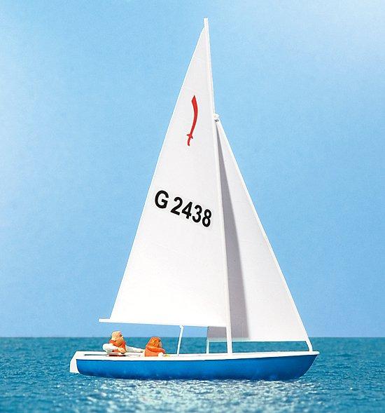 Segler (3), Segelboot Korsar
