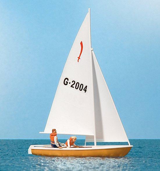 Segler (4), Segelboot Korsar