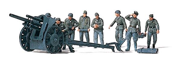 Feldhaubitze 10,5cm, Soldaten, Wehrmacht