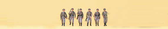 Marschierende Infanterie, Wehrmacht