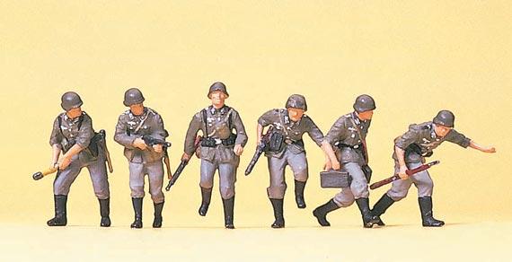 Vorgehende Infanterie, Wehrmacht
