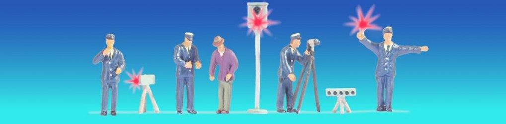 Polizisten Deutschland (blau)