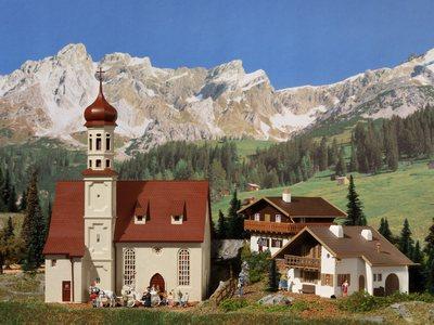 Alpenländisches Set (3 Gebäude)