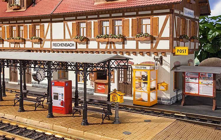 Bahnhofs-Zubehör