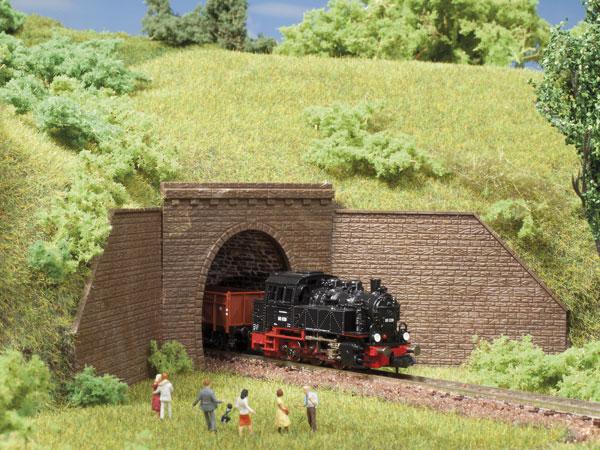 Tunnelportale eingleisig (2 Stück)
