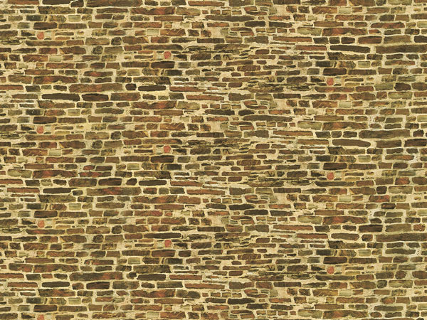 Kalksteinmauer klein (5 Stück)