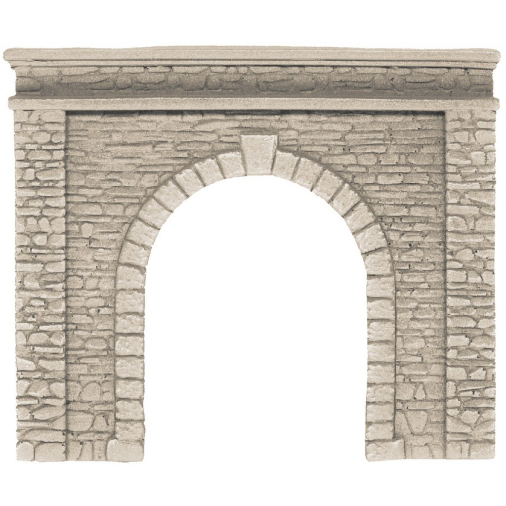 Tunnel-Portal, 1 gleisig